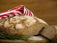 Hagymás kovászos kenyér, rozs (1kg)