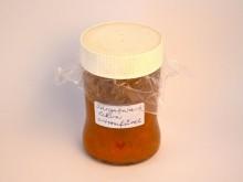 Sárgabarack lekvár, citromfűvel ízesített (400g)